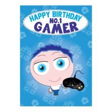 Birthday Card - No. 1 Gamer