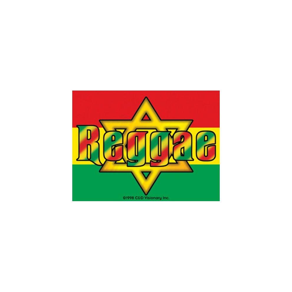 Licenses products reggae sticker