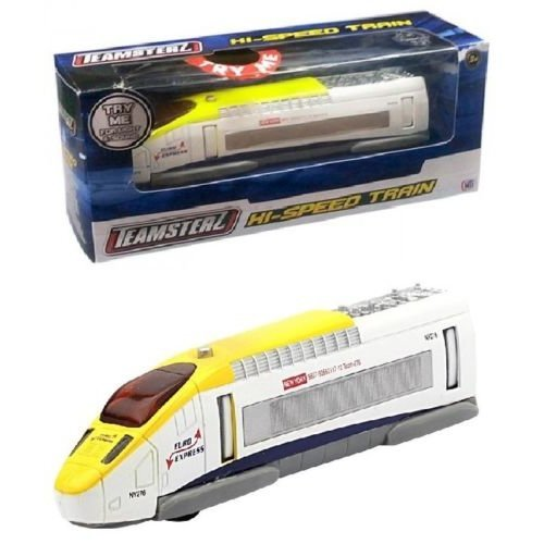 Teamsterz Euro Express Hi Speed Diecast Toy Train With Lights & Sounds Ages 3+