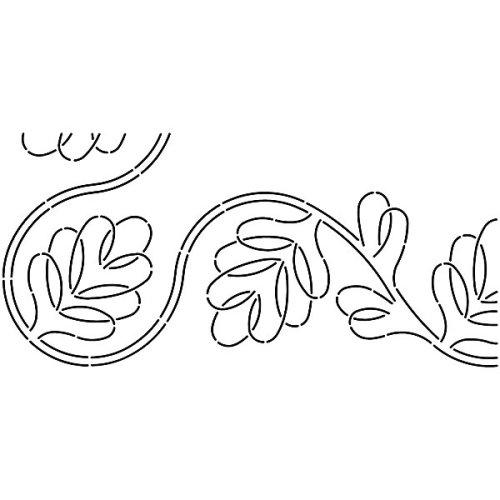 Sten Source Quilt Stencils-2 /& 4 Borders 8X18