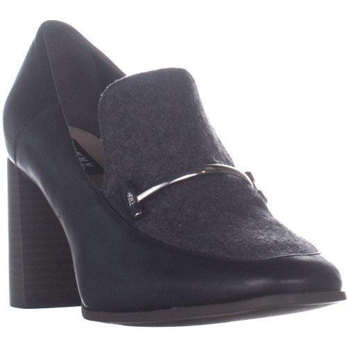 DKNY Sofia Pump Classic Heels, Charcoal Smooth/Black, 6 UK