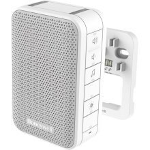 Wired Doorbell with Volume Control and Led Strobe – White