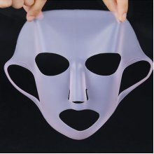 1Pc Silicone Mask Double Absorption Moisture Reusable Mask Tool