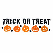 Trixes 23pc Trick or Treat Window Decorations | Gel Halloween Window Stickers