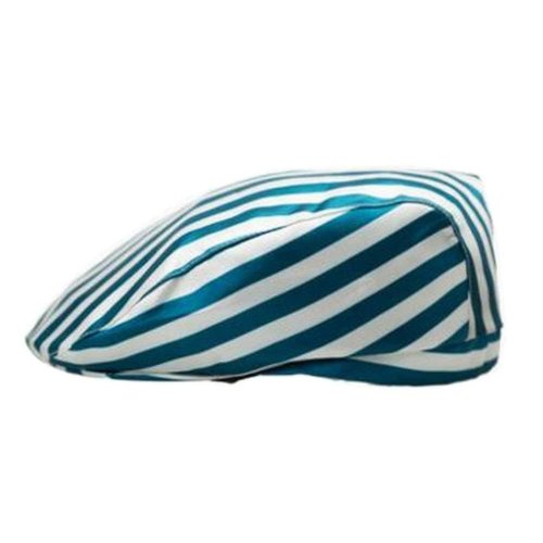 [Stripe-3] Kitchen Chef Hat Restaurant Waiter Beret Bakery Cafes Beret