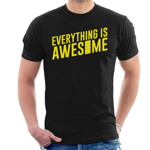 Everything Is Awesome Lego Movie Men's T-Shirt