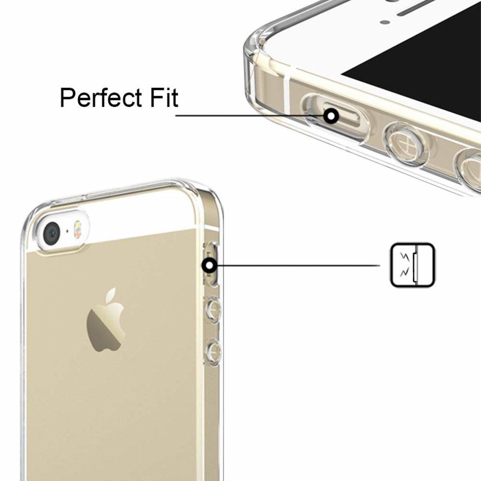 [3 Pack] iPhone 5 Case, iPhone 5S Case, iPhone .