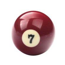 1 PCS Cue Sport Snooker USA Pool Billiard Balls 57.2 mm /2-1/4 - NO.7