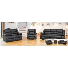 Sergei Leather 2 Seater Recliner in Choiice of Colours