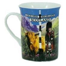 Scotland Scottish Highland Piper Mug Cup Souvenir Gift Tea Coffee Lippy Kitchen