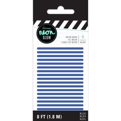 Heidi Swapp Neon Glow Wire 8'-Blue