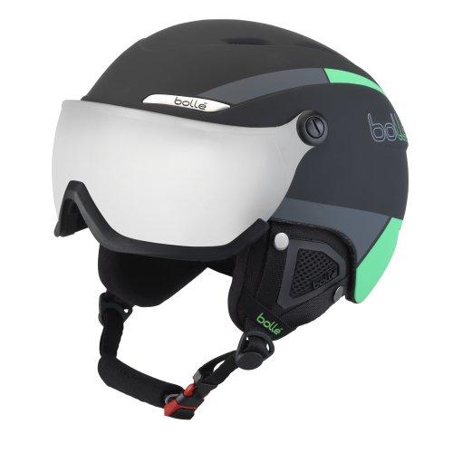 Bolle B-YOND Visor Ski Helmet - Black & Green