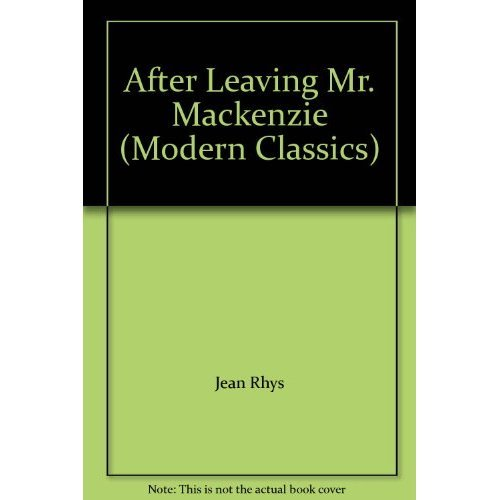After Leaving Mr Mackenzie (Modern Classics)