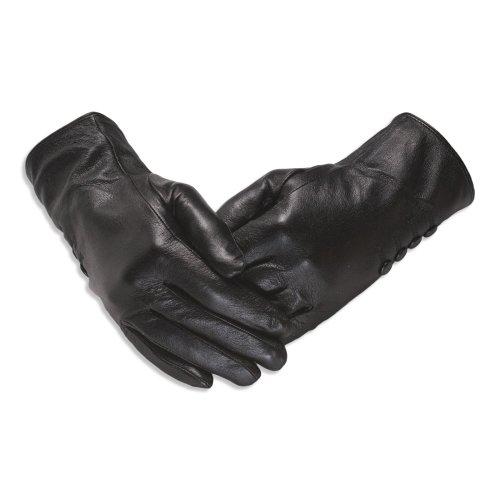 Quivano Womens Leather Gloves - Soft and Stylish - Amber Label Range