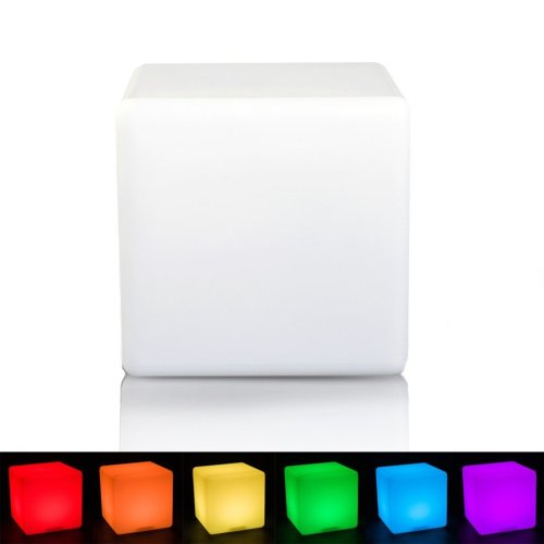 Homcom LED Glowing Cube Lamp | LED Cube Light
