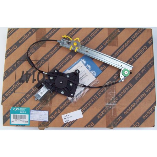 Alfa Romeo 156 Rear Right Door Window Regulator 71792495