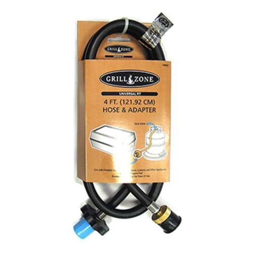 Blue Rhino 00361TV Propane Hose & Adapter For 1 lbs. Disposable Tanks