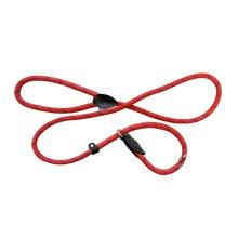 "60"" Red & Black Mountain Rope Slip Dog Lead - Co Hem Boo 150cm Slip 60 -  rope dog lead mountain slip co hem boo 150cm sliplead red 60"