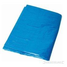 Silverline Tarpaulin 1.8 x 2.4m - 24m 18 Waterproof 456936 Sheet -  tarpaulin silverline x 24m 18 waterproof 456936 sheet