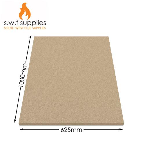 Vermiculite Fire bricks Fire Board Heat Proof Brick Fireboard Stove 1000 x 625mm