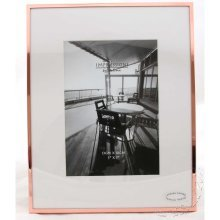 "Copper Edged 5"" x 7"" Photo Frame 7th Wedding Anniversary Gift FS99557"