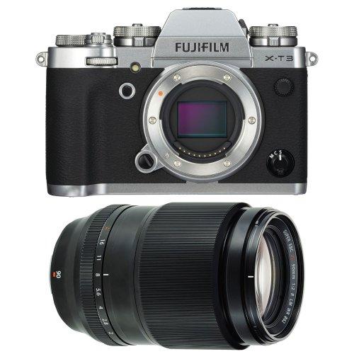 FUJI X-T3 Silver + XF 90MM F2 R LM WR Black
