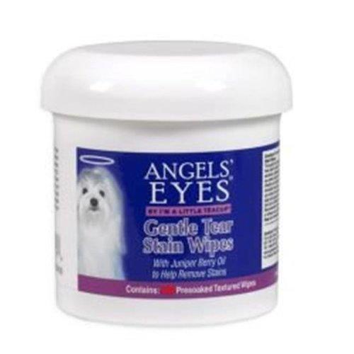 Angels Eyes AEGTSW200 Gentle Tear Stain Wipes - 2 Count