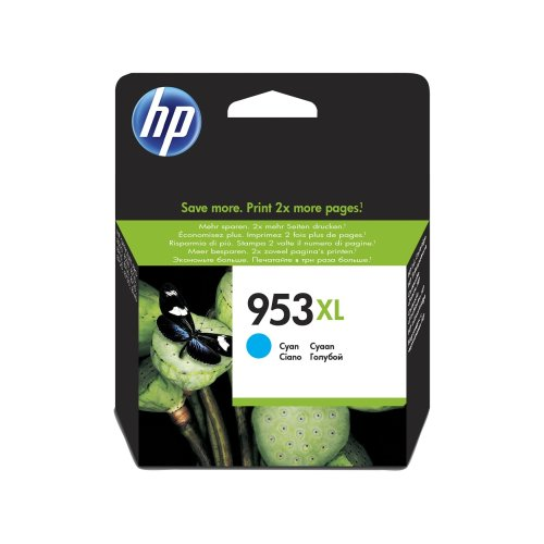 HP 953XL Cyan Original Ink Cartridge 20ml 1600pages Cyan