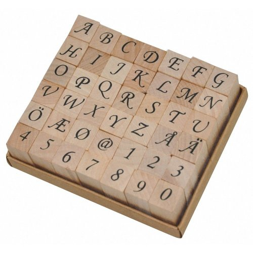 Pbx2471129 - Playbox - Wood Stamps 12 X 12 Mm
