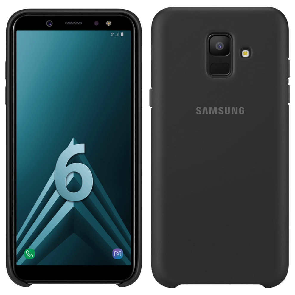 more photos f8c7c cc811 Official Samsung Dual-layer cover Backcover for Samsung Galaxy A6 - Black