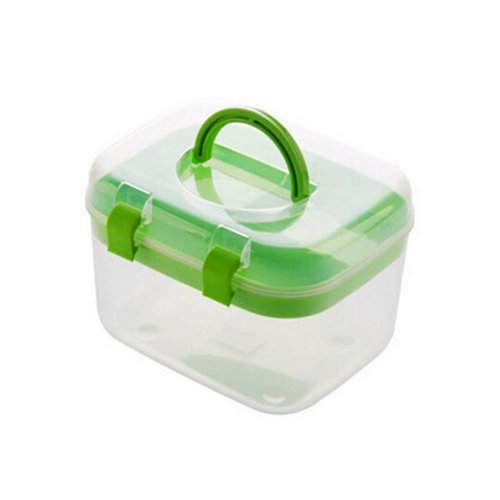 "[Set of 2] Creative Mini Portable First Aid Kit Travel Medical Box,GREEN,6.5""x5"""