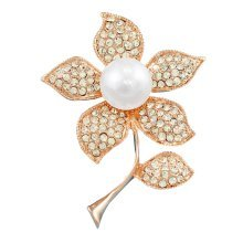Flower Design Brooches Pins Scarf Clips Women&Girls