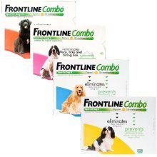 Frontline combo dogs 2-60kgs fleas, ticks and lice