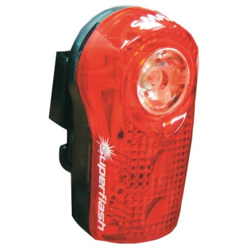 Smart Superflash 0.5 W Flashing Light - Red