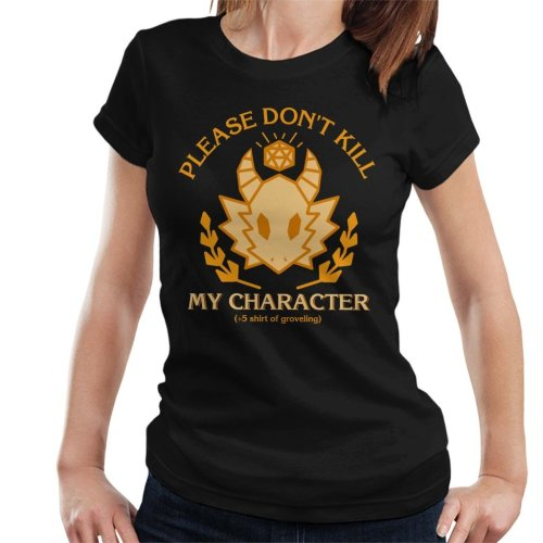 Dungeons And Dragons Grovelling Shirt Women's T-Shirt