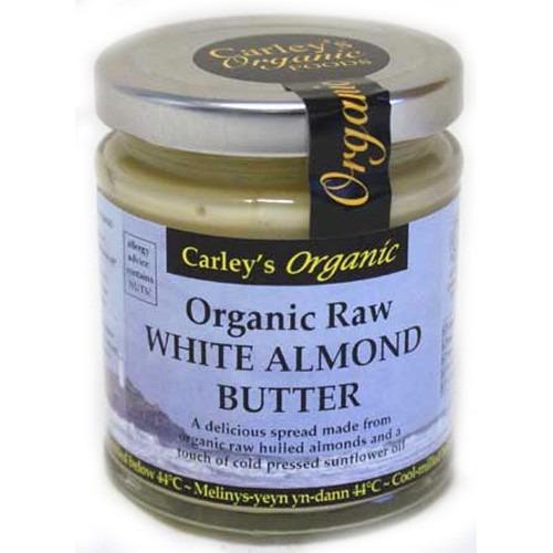 Carley's Organic Raw White Almond Butter 170g