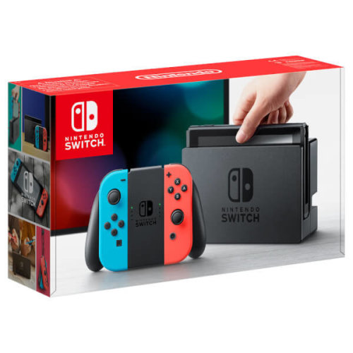 "Nintendo Switch 6.2"" 32GB Touchscreen Wi-Fi Blue, Grey, Red..."