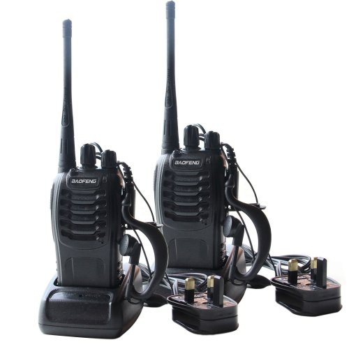 Imurz TL036 2Pcs Rechargeable Walkie Talkies Two Way Radio UHF 400