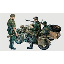 BMW R75 with Sidecar - MILITARY VEHICLES 1:35 - Italeri 315
