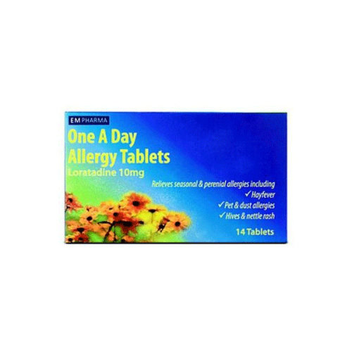 EmPharma One A Day Allergy Tabs Loratadine 10mg  14 Tabs