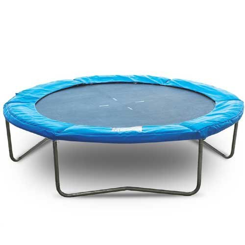 Quality 10 ft Trampoline With Weather Protection and Heavy Duty Frame