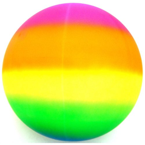 "18"" Giant Jumbo Neon Rainbow Ball"