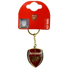 Arsenal F.c. Crest Keyring - Fc Official Football Club Product Free Pp -  arsenal keyring fc official football crest club product free pp