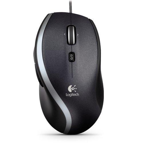 Logitech M500 USB Laser 1000DPI Right-hand Black mice