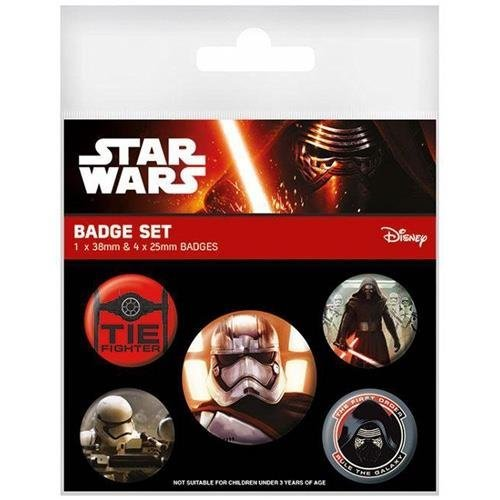 Star Wars First Order Badge Set