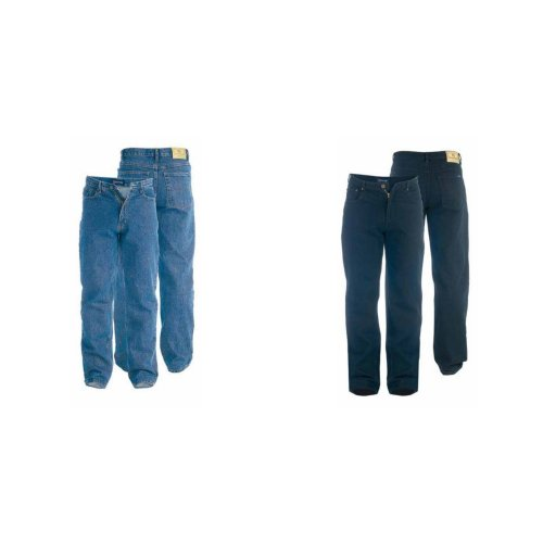 Duke Mens Rockford Carlos Stretch Jeans
