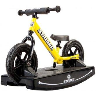 Strider® 12 Balance Bike and Baby Rocking Base