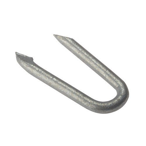 Forge 500NLNS15GB Netting Staple Galvanised 15mm Bag Weight 500g