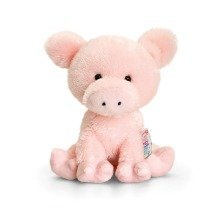 Keel Pippins Curly the Pig Soft Toy 14cm