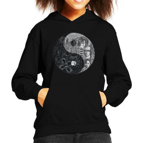 Upside Down Stranger Things Kid's Hooded Sweatshirt